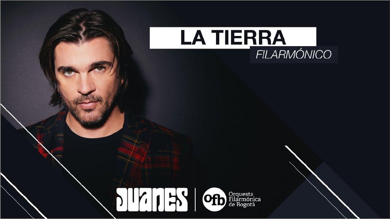 Juanes & Orquesta Filarmónica de Bogotá - La Tierra (Concierto Sinfónico Virtual)