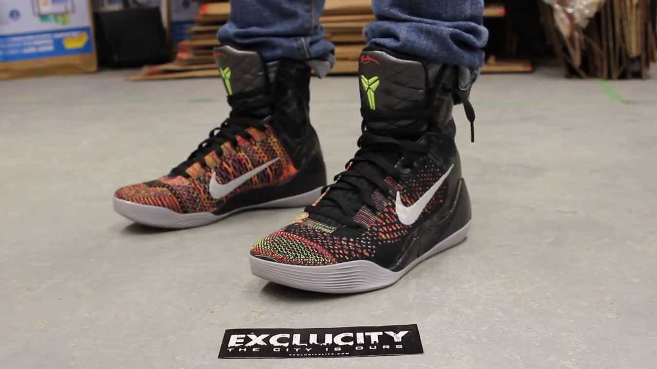 on sale 2eb0a 655f5 Kobe 9 Elite Master What The ...