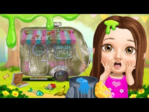Messy Camper Cleanup! Yikes!🤢 Sweet Baby Girl Summer Camp | TutoTOONS Cartoons & Games For Kids