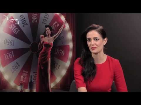 Eva Green Avoids The Plastic Party   London Live