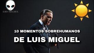 10 Veces Que LUIS MIGUEL Olvidó Que Era HUMANO! (2018)