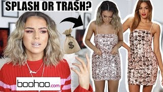 £400+ RECEIPT FROM BOOHOO...SPLASH OR TRASH?! | TRY ON STYLING CLOTHING HAUL
