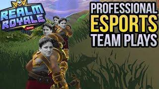 Professional Esports Team Plays - Realm Royale Gameplay