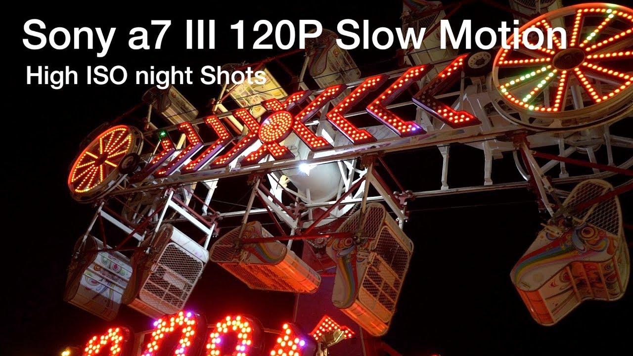 Sony a7 III 120 FPS Slow Motion