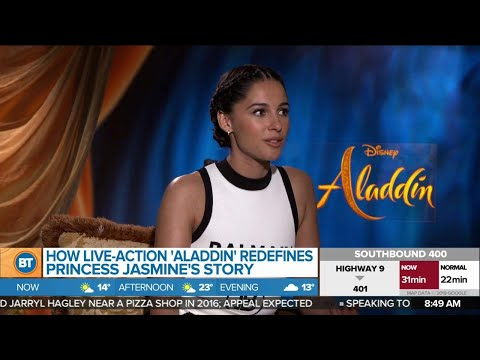 "Naomi Scott plays ""Jasmine"" in -action &39;Aladdin&39;"