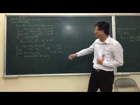 Hướng dẫn giải Đáp án thi Quy hoạch tuyến tính Học viên ngân hàng 2012