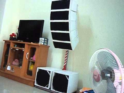 ร้อยซาวด์ เพาเวอร์แอมป์ - ลองทดสอบเครื่องเสียงในบ้านแนวตู้เเขวน