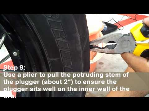 Tyre Repair Procedure