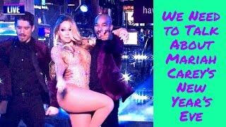 We Need to Talk About Mariah Carey's New Year's Eve