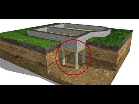 Комбинированный фундамент для всех домов...