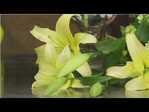Flower Arrangements How To Arrange A Tall Vase With Fresh Flowers