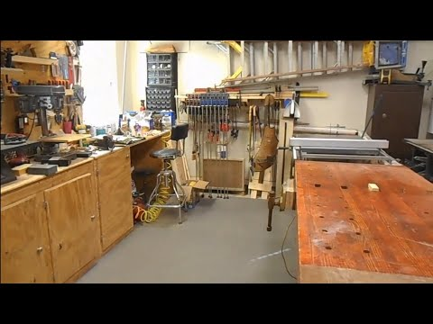 Shop tour 2019 Hammer Down Woodworking