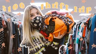 What $100 will get you at the thrift store?! || come thrift with me || HUGE $100 thrift haul