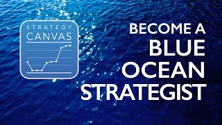 Become a Blue Ocean Strategist with the Strategy Canvas App!