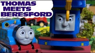 Thomas and friends : Thomas meets Beresford   Journey Beyond Sodor | capsule toys plarail