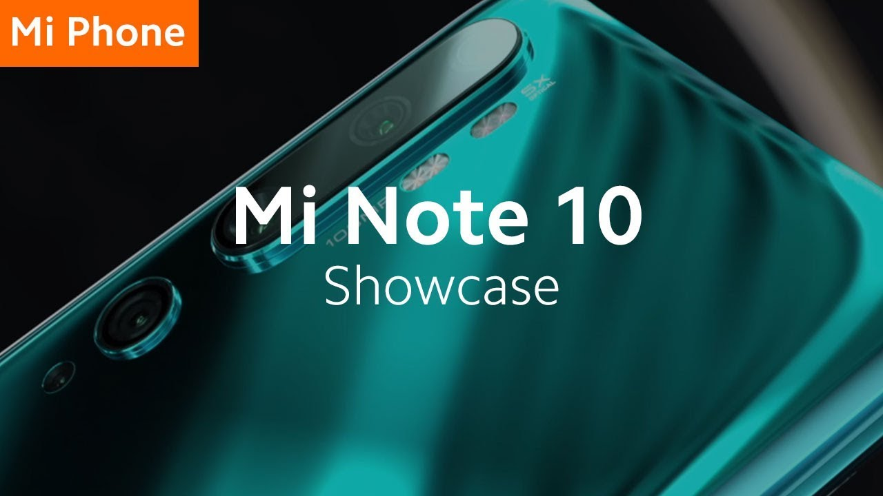 Mi Note 10: World's First 108MP Penta Camera