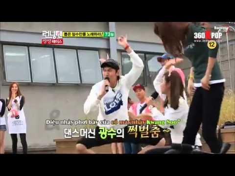 Điệu nhảy khó đỡ của SNSD (Yuri & Yoona) & Running Man (Jae Suk & Gwangsoo)