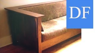 Woodworking Projects -  Craftsman Style Sofa