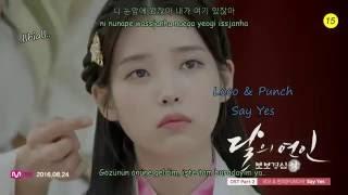 (Moon Lovers : Scarlet Heart Ryeo OST Part 2) Loco & Punch - Say Yes Türkçe Altyazılı (Han/Rom)