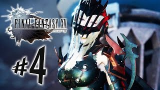 FINAL FANTASY XV - Parte 4: Aranea Highwind ( ͡° ͜ʖ ͡°) [ PS4 Pro - Playthrough ]