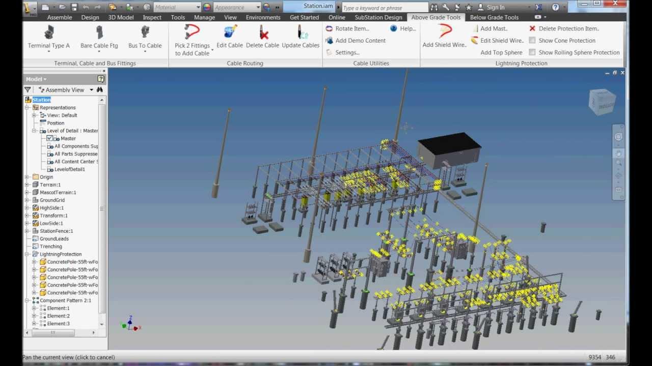 Autodesk Substation Design Software