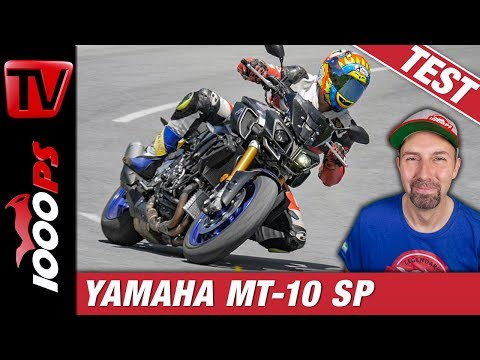 Yamaha MT-10 SP Test in den Alpen