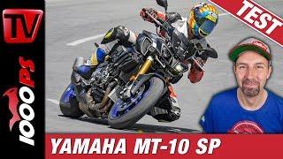 Yamaha MT-10 SP Test in den Alpen