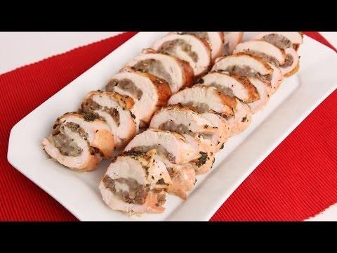 Roasted Stuffed Turkey Breast Recipe - Laura Vitale - Laura in the Kitchen Episode 676