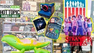 FINDING ALL STRANGER THINGS ITEMS at the MALL! Close Up & Price of each! Stranger Things Toy Hunt!
