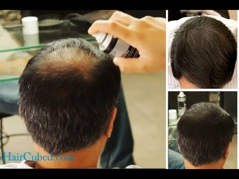 Hair Fiber Building Video Before And After New 2014