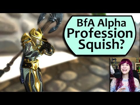 BfA Profession Squish? Battle for Azeroth Profession Squish Preview