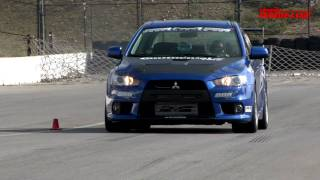 2008 Mitsubishi EVO X by AMS | Track Tested | Edmunds.com