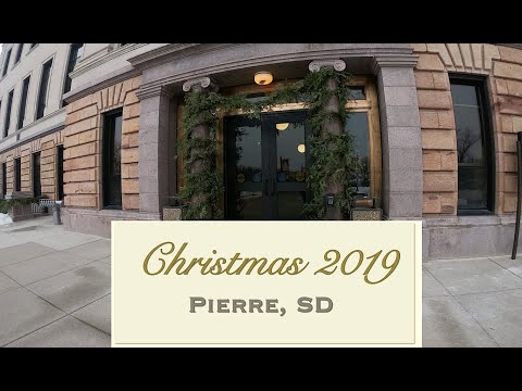 Christmas at the State Capitol in Pierre, South Dakota
