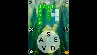 WORDSCAPES - Forest - Pine Stage Puzzles 1-8