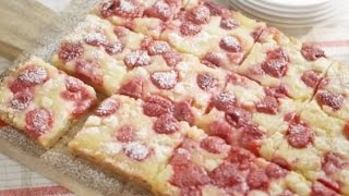 Dorie Greenspan's Raspberry And Meyer Lemon Squares By Driscoll's® Berries