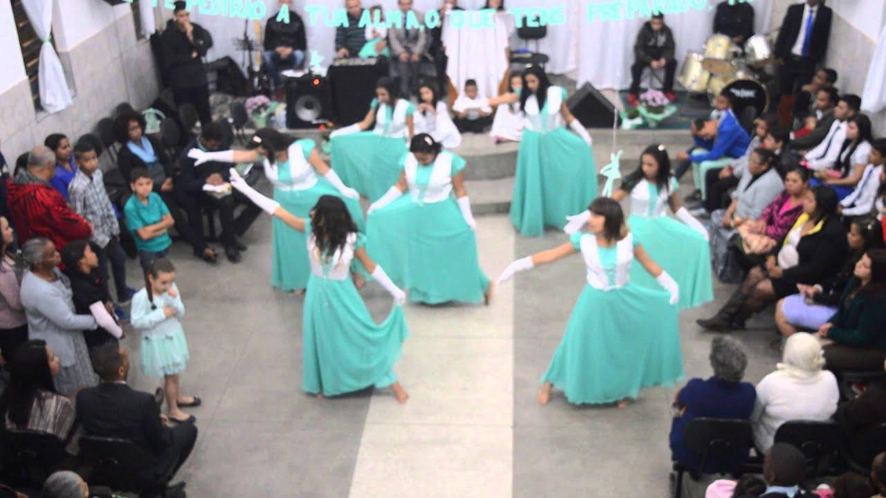 Coreografia- Santificação' Grupo Menina Dos Olhos De Deus