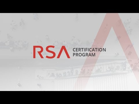 RSA Certification Program