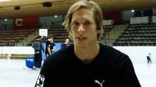 Interviews vor dem Spiel Bayer Dormagen - TuS Ferndorf