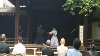 2015年5月5日 靖国神社 奉納演武.