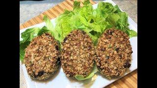КОТЛЕТЫ ИЗ БАКЛАЖАНОВ И КАБАЧКОВ.  ИДЕАЛЬНЫЙ ДУЭТ. И что может быть вкуснее! Eggplant Burgers