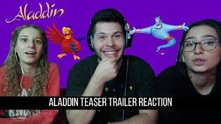 Aladdin Teaser Trailer Reaction!!!!!