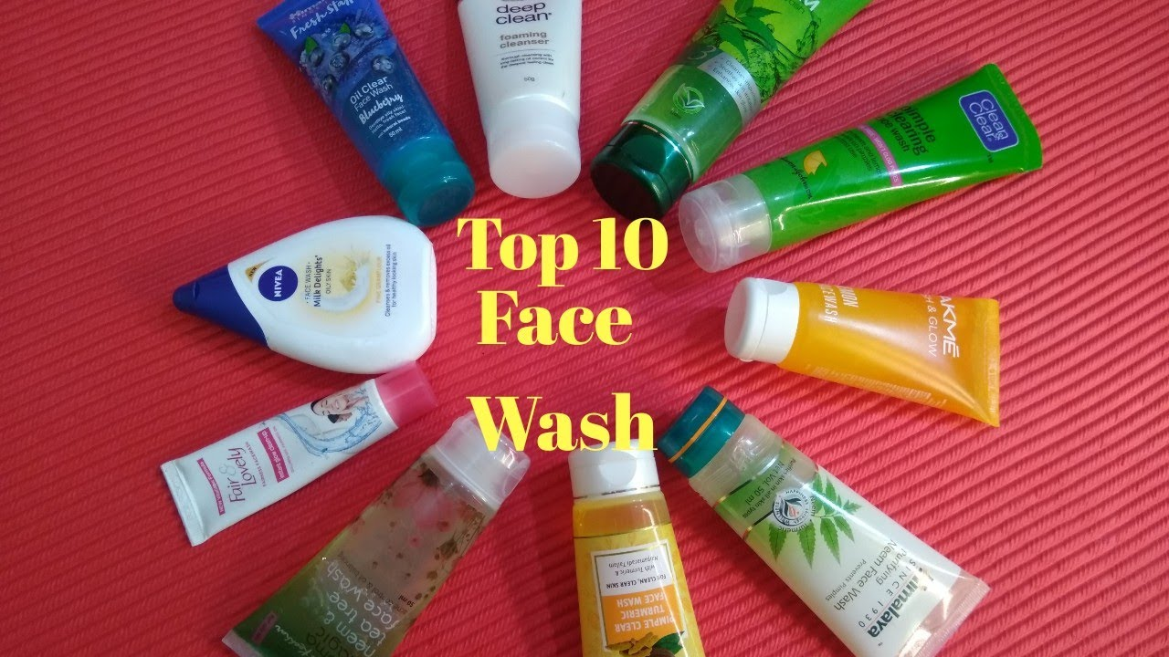 Top 10 Face Wash For All Skin Type l Best & Worst l Tiny Makeup Update