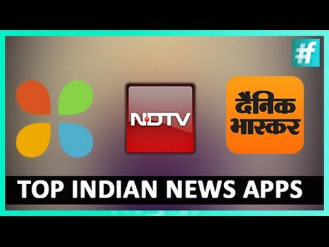 Top 3 Indian News Apps - #WhatTheApp