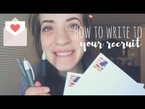 WRITING TO YOUR RECRUIT | Marine Girlfriend | Bootcamp Week 7