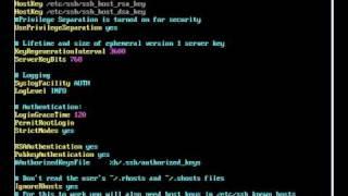 Instalando e configurando servidor Open SSH - Linux