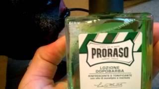 Mail Call #2: Proraso After Shave!