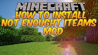 Como baixar e instalar o mod Nei (Just Enough Items) 1.8.9