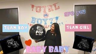 My sister baby #GenderReveal (DCM Fam Vlog)