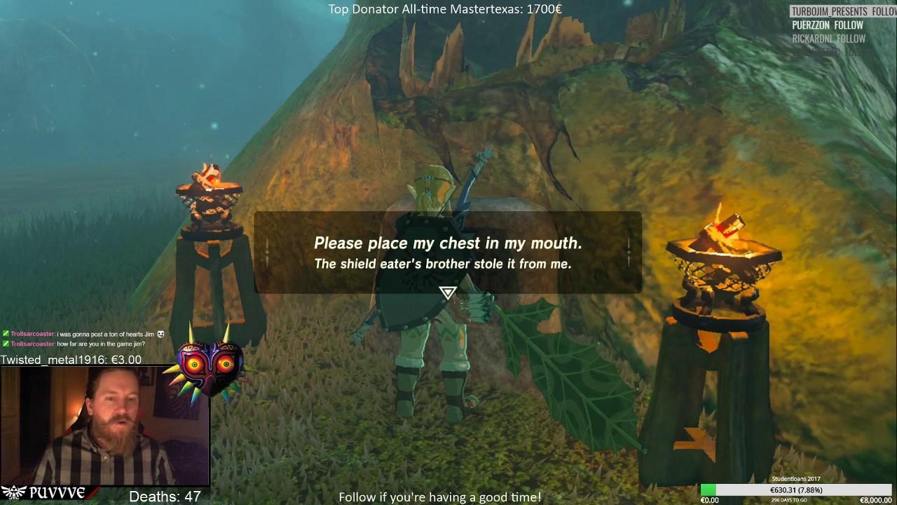 Zelda Botw Hungry Trees Iron Test Lost Woods Youtube
