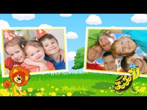 Красочное детское слайд-шоу - коллекция шаблонов